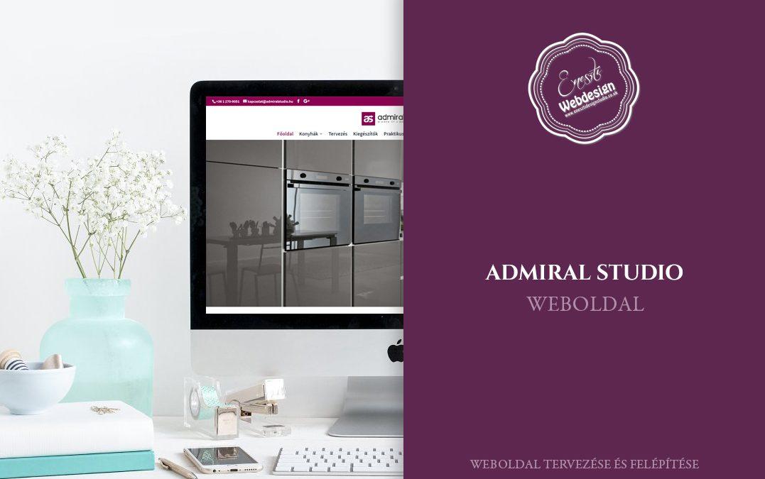 Admiral Studio weboldal