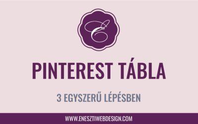 Hogyan hozz létre új Pinterest táblát vállalkozásod számára?